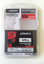 Nuevo Kingston 120GB SSD V300 SSDnow estado sólido SATA 3 disco duro de 6GB/sec 2.5 pulgadas