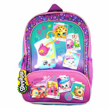 "Shopkins Backpack 16"" Cute SPK selfie Large School Bag Kids - NEW"