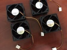 Silent Computer Fan SilenX 60mm 16 dBA 2000 RPM 18 CFM IXP-34-16-OEM [Pack of 4]