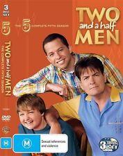 Two And A Half Men : Season 5 (DVD, 2009, 3-Disc Set)