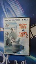 happy feet & happy feet 2* 2 DVD*NUOVO