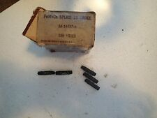 Vintage FoMoCo 16 Gauge Splice Stamped with the Ford Logo and 16 GA., Pack of 5