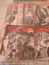 19335 Weite Welt aktuelle Magazin 1947 Heft 1 2 3 4 5 6 7 8 12 Film Reisen Roman