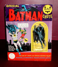 1966 OFFICIAL Classic BATMAN BAT CHUTE Parachute Toy SEALED Batchute SEALED
