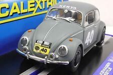 SCALEXTRIC C3642 VW VOLKSWAGEN BEETLE 62' AFRICAN SAFARI RALLY 1/32 SLOT CAR DPR