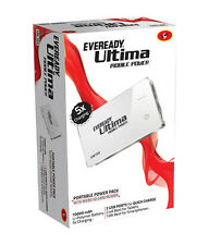 Eveready Ultima UM100 Power Bank 10000 mAh White+ 3 Months Brand Warranty