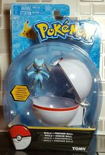 2017 TOMY Pokémon Clip n Carry Riolu + Premier Ball NEW
