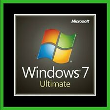 Microsoft Windows 7 Ultimate 64/32bit Genuine License Key Product Code - Instant