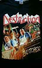 Destruction large shirt Thrash metal sodom kreator slayer metallica anthrax