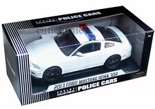 Shelby Collectibles 2013 Ford Mustang Boss 302 1:18 Police Car Plain White SC463