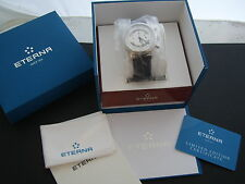 ETERNA HERITAGE PULSOMETER CHRONOGRAPH - LIMITED - NEU - REF 194241641177 - 42mm