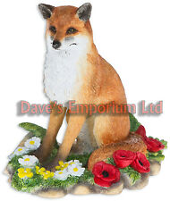 RED FOX DA LEONARDO-British Wildlife statuine da Macneil Studio ORNAMENTI
