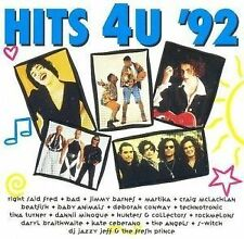 """HITS 4U '92"" RARE AUSSIE COMPILATION CD-Baby Animals/MARTIKA/McLachlan/BAD/Tina"