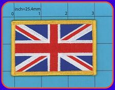 UK Flag Iron on Patch Embroidery Great Britain Union Jack London british ENGLAND