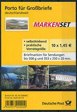 Bund Folienblatt FB 17 gestempelt BRD 10 x 2863 Selbstklebende ETSST Bonn used