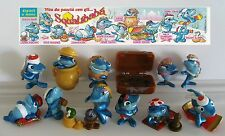 KINDER FERRERO SURPRISE SERIE COMPLETA SHARKS SQUALIBABA +1 CARTINA (IT) RAR