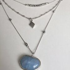 Vince Camuto Necklace $68 Silver Tone New Over Stock With Tags C501477