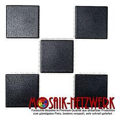 Mosaik schwarz weiss Schachbrett Bodenfliese antirutsch Art:22-0304-R10| 10Bögen