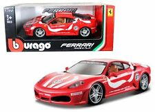 BBURAGO 1/24 FERRARI RACE & PLAY FERRARI F430 FIORANO DIECAST CAR 18-26009 RED
