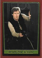 1999 Topps Star Wars Chrome Archives #81 Ready For Action!   Han Solo