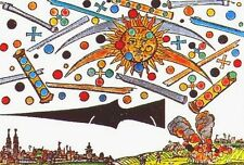 Framed Print - UFO Battle Over Nuremberg, Germany 1561 Grainy Replica (Picture)