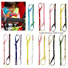 Baby Safety Seats Toys Fixed Toys Stroller Toys Pacifier Chain Tether Strap NEW