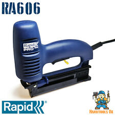 RAPID R606 Electric Divergent Tacker / Nailer / Stapler (606 Floor Laying) ME606