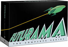 Futurama Complete Series Volume 1-8 + 4 Full Length Movies ~ NEW 27-DISC DVD SET