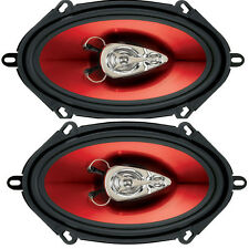 "BOSS Audio Ch5730 5x7 "" 300 Watt 3 Way Auto Altoparlante Sportello 1 Paio FORD MAZDA JAGUAR"