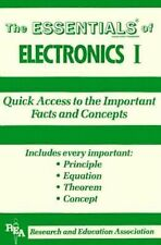 Electronics I Essentials (Essentials Study Guides) (v. 1)