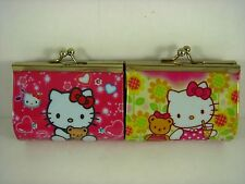 NEW Kids Girls Children Coins Purse Money Pouch Bag For Hello Kitty + Pendant