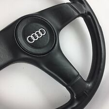 Nardi leather steering wheel. Genuine OEM. Audi,S2,Coupe,Avant,Quattro,80,90 etc