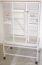 NEW Large 3 Level Ferret Chinchilla Sugar Glider Mice Rat Cage White Vein - 943
