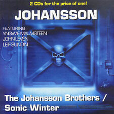 JOHANSSON BROTHERS: Self-Titled / SONIC WINTER 2-CD EUR IMPORT feat YNGWIE, MINT