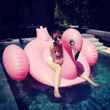 Swimline Swimming Pool Inflatable Giant Rideable Pink Flamingo Float Toy