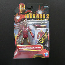 MARVEL AVENGERS IRONMAN 2  POWER ASSAULT ARMOUR ACTION FIGURE BOXED