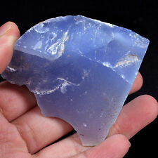 TOP BLUE AGATE / CHALCEDONY: 523,62 Ct Natürlicher Blau Achat / Chalzedon Türkey
