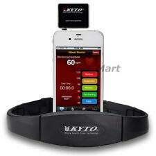 Heart Rate Monitor Wireless iPhone 4S 5 iPad Chest Strap Sport Calorie Free Apps