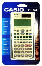 FC-200V CASIO Financial Calculator, 4-Line Display,Cost/sell/margin statistic