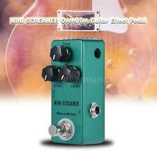 MINI SCREAMER Overdrive Guitar Effect Pedal TrueBypass Zinc-aluminium Alloy C6N4