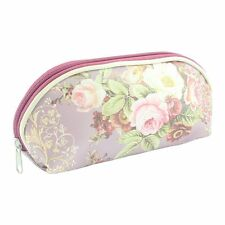 MAKE UP COSMETIC BAG OIL CLOTH  ROSE GARDEN RANGE BY LEONARO