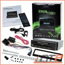 "ENVATRON AR1D85007 1DIN 7"" TOUCHPANEL MONICEIVER BLUETOOTH RADIO CD DVD SPIELER"