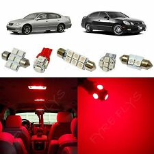 12x Red LED lights interior package kit 1998-2005 Lexus GS300 GS400 GS430 LG1R