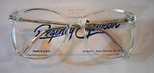 Vintage Regency Eyewear by Tart Optical UX6 Crystal 57/17 Eyeglass Frame NOS