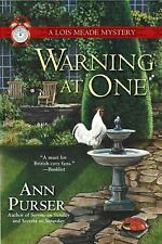 Warning at One (Lois Meade Mystery)-ExLibrary