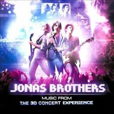 Music From The 3D Concert Experience-Jonas Brothers (CD, Hollywood)