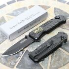 Tac Force Special Force Rescue Tactical Folding Pocket Knife Black Hunting NEW