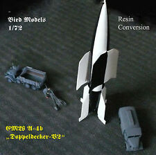 "EMW a-4b ""biplano-v2"" (Biplane-v2) 1/72 Bird models transformación frase/Conversion"