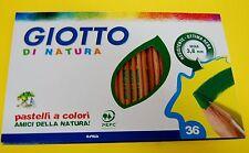 LINEA GIOTTO DI NATURA da 36 colori pastelli matite colorate