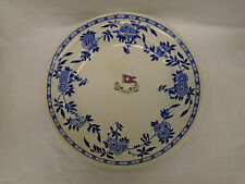 White Star Line Minton Stonier & Co Ltd - Delft Pattern - 2nd Class Dinner Plate